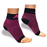 ACTINPUT Compression Foot Sleeves for Men & Women - Best Plantar Fasciitis Socks