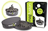 #2: Magnetic Desk Toy Sculpturing Fidget, Sophisticated, Magfusion Fun by Make it Up (180 Non Magnetic Balls)