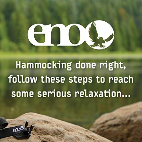 ENO Eagles Nest Outfitters - DoubleNest Hammock, Portable Hammock for Two, Red/Charcoal