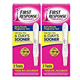 Early Result Pregnancy Test, 3 Tests (Packaging & Test Design May Vary) - 2 Pack