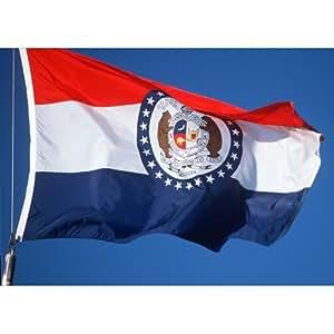 Allied bandera al aire libre Nylon bandera de Estado, Missouri, 5pies por 2,4metros