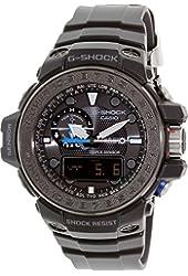 Casio GWN1000C-1ACR G-Shock Mens Watch - Multi-Band Atomic Timekeeping - Resin Case