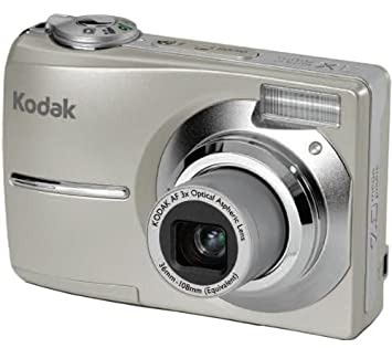 kodak easyshare c713 digital camera silver 2 4 lcd amazon co uk