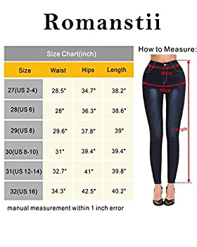 Romanstii Women's Skinny Pull-on Pant With Elastic Waist 2
