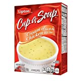 Lipton Cup-a-Soup, Cream of Chicken 4 ea (Pack of 2)