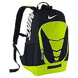 Men's Nike Max Air Vapor Backpack Black/Volt/Metallic Silver Size One Size