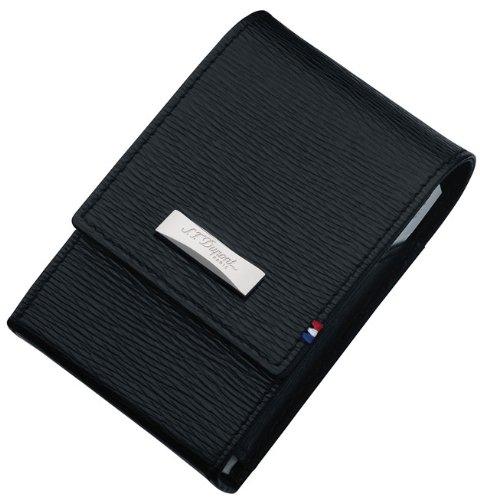 (ST Dupont Contraste Leather Cigarette Pack Holder)