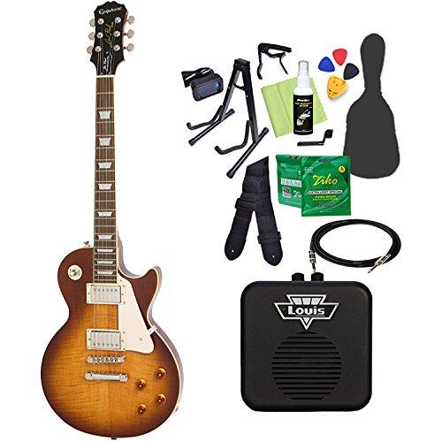 Epiphone Limited Edition Les Paul Standard Plustop PRO Desertburst エレキギター 初心者14点セット ミニアンプ付き レスポール エピフォン   B07CPRDVJZ