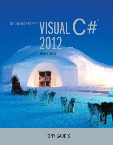 Starting Out W/Vis.C# 2012 W/Cd+Access