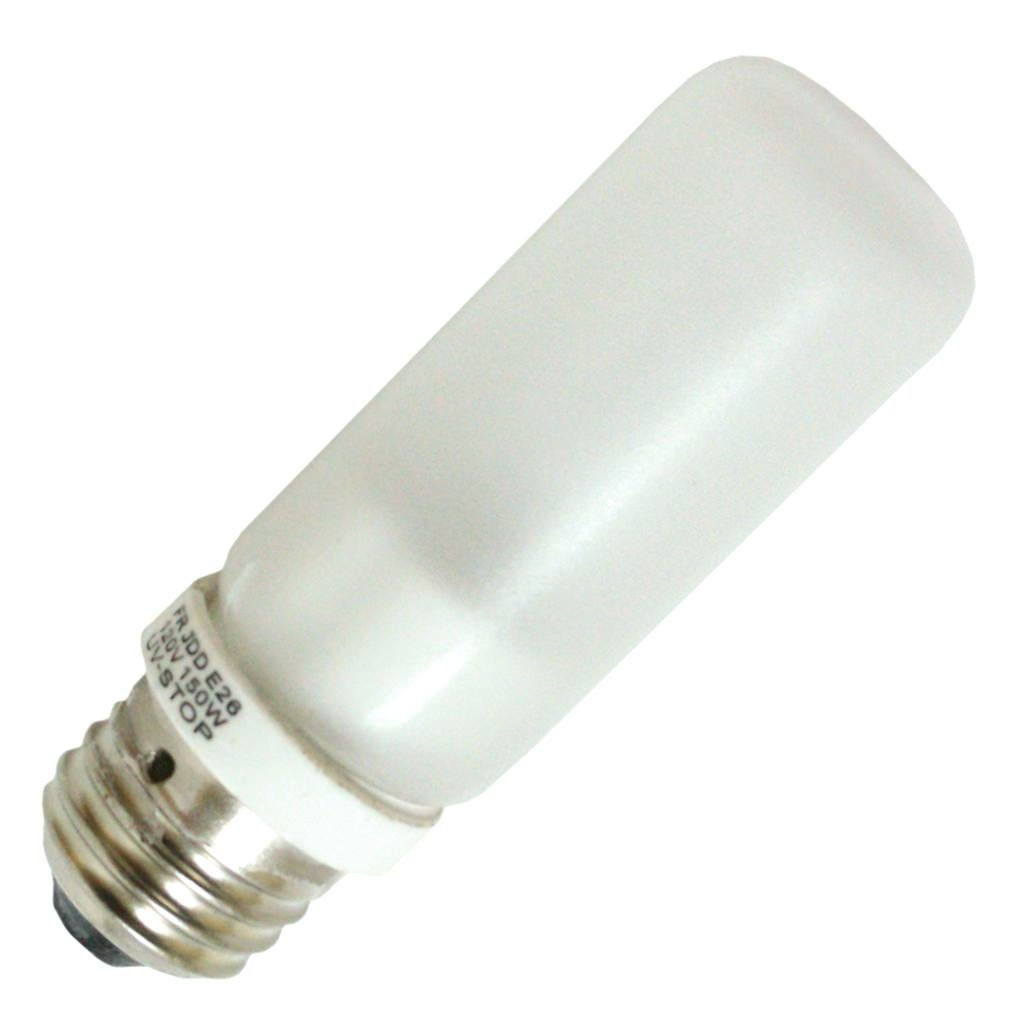 General 553478 - 150T10Q/F/STC 120V TEFLON SAFETY Tubular Halogen Light Bulb