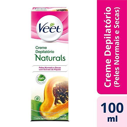 Creme Depilatório Naturals Papaia Veet