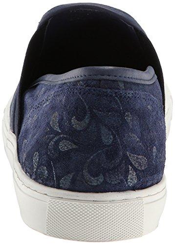 Kenneth Cole New York Mens Gå Med Flo Su Mode Sneaker Blå