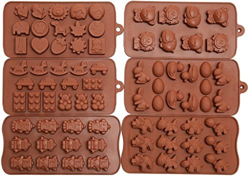 Efivs Arts Chocolate Silicone Molds 6pc product image