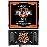 Harley Davidson Oil Can Dart Cabinet 61912