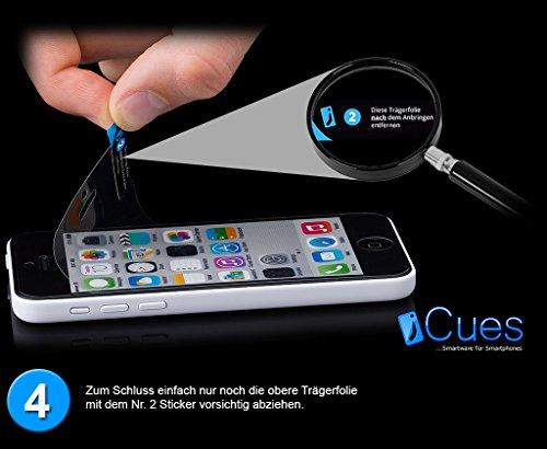 iCues Apple iPhone 5C |  Löcher Case Blau | [Display Schutzfolie Inklusive]  Schutzhülle Hülle Cover Schutz