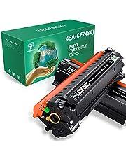 GREENSKY Compatible Toner Cartridge Replacement for HP 48A CF248A for HP Laserjet Pro MFP M15w M29w M28w M15a M28 M31 M15 M14 M17 M28a M30w M31w M29a M16a M16w Laser Toner Printer (Black, 2 Packs)