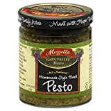 Mezzetta Sauce Pesto Basil Italian Home Made, 6.25 oz