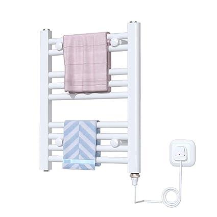 Hesily BadheizköRper Elektrisch Badezimmer Handtuchhalter ...