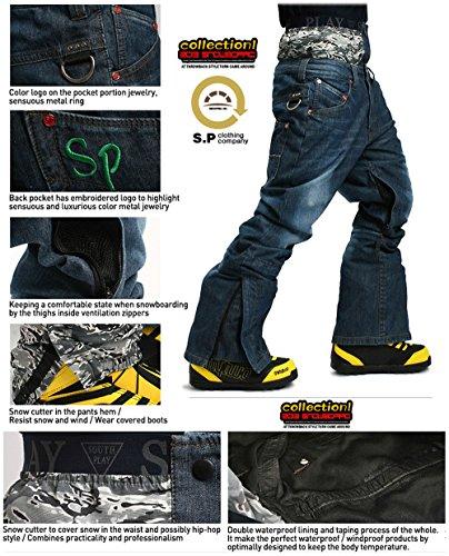 Giacca Verdi Trousersset Di Pantaloni Acu Uomini Degli Parka jeans Vestito Southplay Del L'usura pxf6HUqW