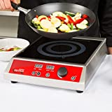 (Ship from USA) Avantco IC3500 Countertop Induction Range / Cooker - 208/240V, 3500 Watt /ITEM NO#E8FH4F854120572