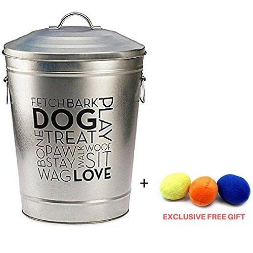 Pooch Pantry Pet Food Storage (Large) + Exclusive FREE Gift dog toy