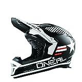 O'Neal Fury RL II Afterburner BMX or Mountain Bike Helmet (Black/White, Large)