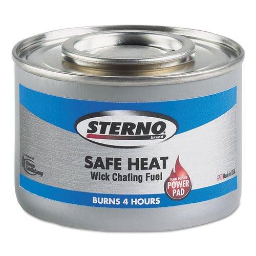 STERNO Safe Heat With PowerPad, Ethylene Glycols, 240 g, ...