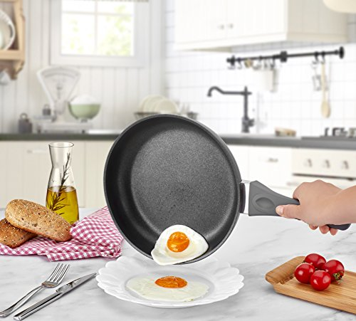 Saflon Titanium Nonstick 11-Inch Fry Pan, 4mm Forged Aluminum with PFOA Free Scratch-Resistant Coating from England