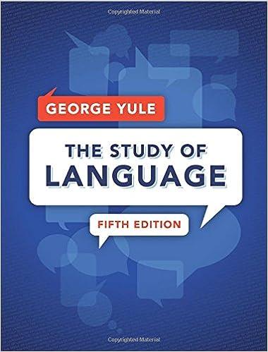 Resultado de imagen para the study of language g yule