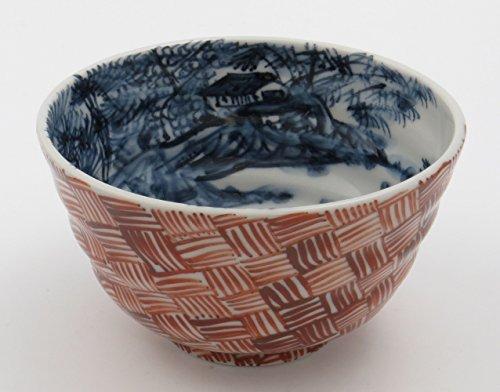 Kiyomizu Ware Mr. Konosuke Murata Rice Bowl In the small retail space Sansui