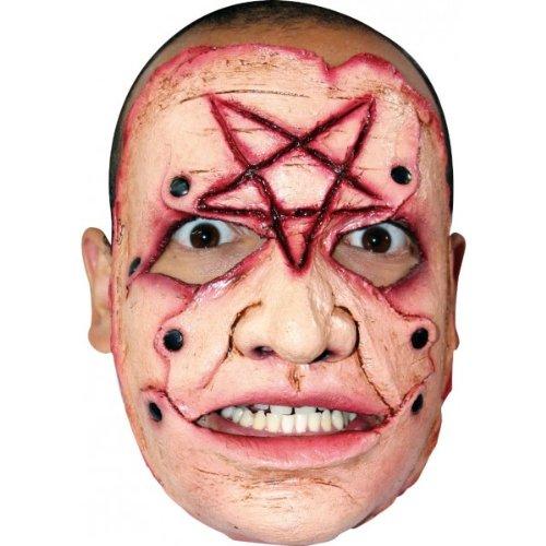 [Serial Killer #11 Latex Costume Face Mask] (Serial Killer Halloween Costume)