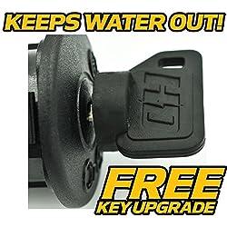 (2 Pack) John Deere Ignition Switch Key 110 112 12