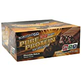 Worldwide Sport Nutritional Supplements High Protein Bar Chocolate Deluxe 12 - 2.75 oz (78 g) bars [33 oz (936 g)]
