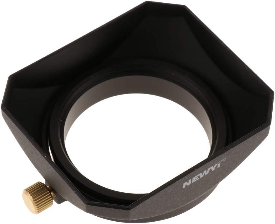 Gazechimp 46mm Square Hood for Sigma Zeiss Kodak Voigtlaender Camera Lens Accessory