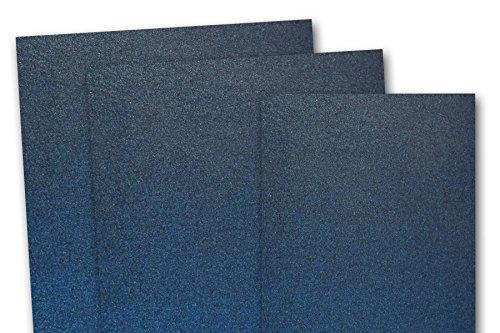 Blank Stardream Metallic Lapis Lazuli Navy 5x7 Flat Card ...
