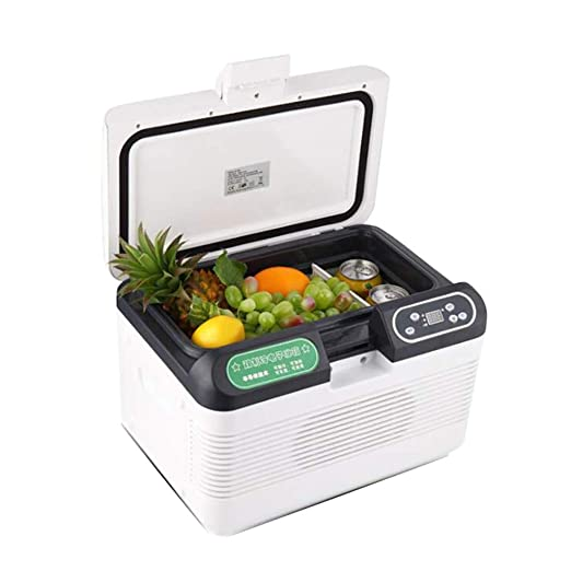 S-AIM Mini refrigerador 12l, refrigerador portátil Mini congelador ...