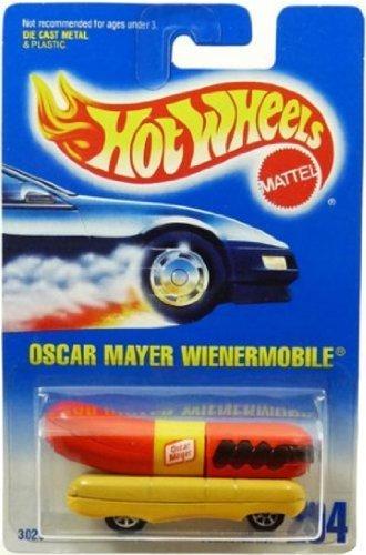 Hot Wheels Blue Card - Hot Wheels oscar mayer Wienermobile All Blue Card #204