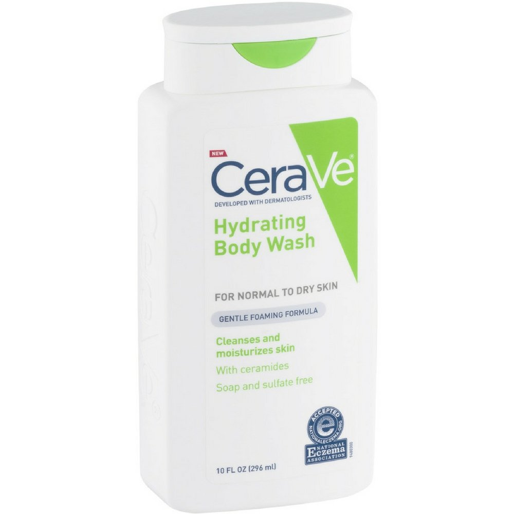 CeraVe Hydrating Body Wash 10 oz (Pack of 12)
