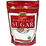 Hain Pure Foods Organic Powdered Sugar, 16 Ounce (Pack of 12)