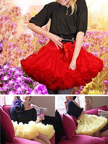 Uni DEN Femme Plisse buenos ninos Jupe Rouge 90 FtHSPqw