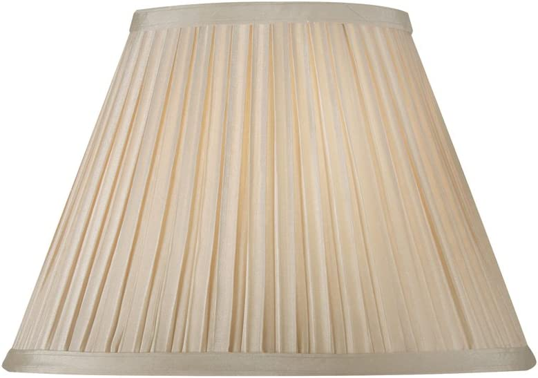 30 cm Rosa pallido Abat-jour pliss/é en forme de champignon Oaks Lighting