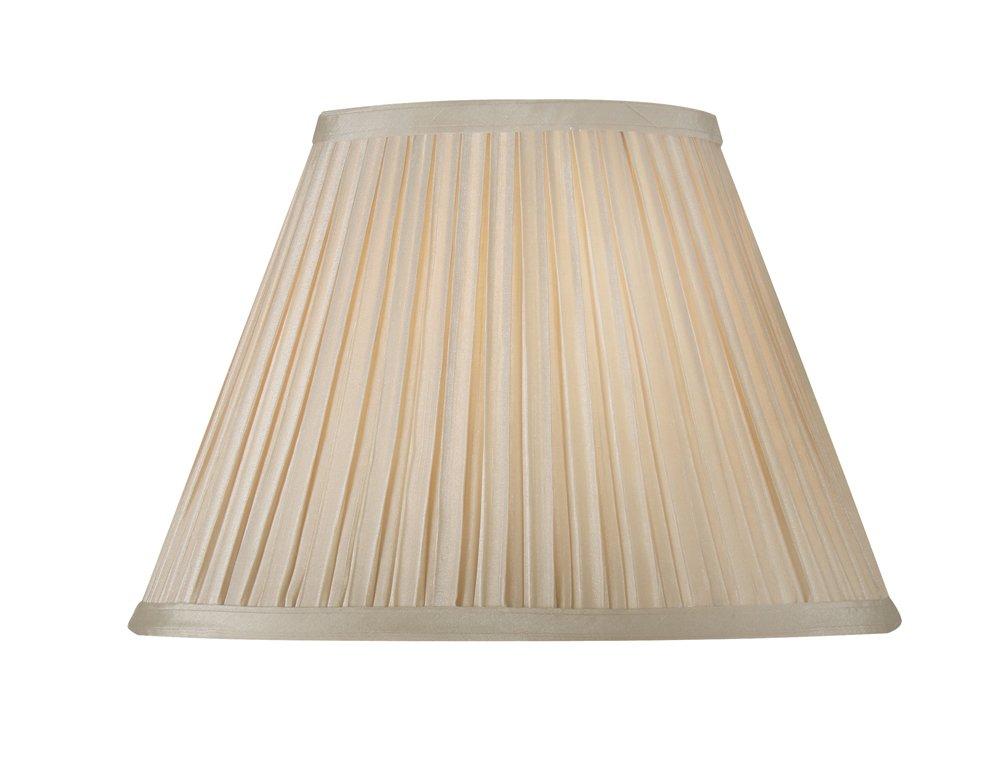 Oaks Lighting Abat-jour plissé évasé Sable 50,8cm