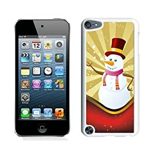 Customized Christmas snowman White iPod Touch 5 Case 11 by icecream design