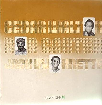 Cedar Walton / Ron Carter / Jack DeJohnette: Cedar Walton ...
