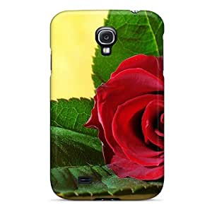 For Galaxy S4 Tpu Phone Case Cover(mother S Day Beautiful Flower Love Is The Reason)