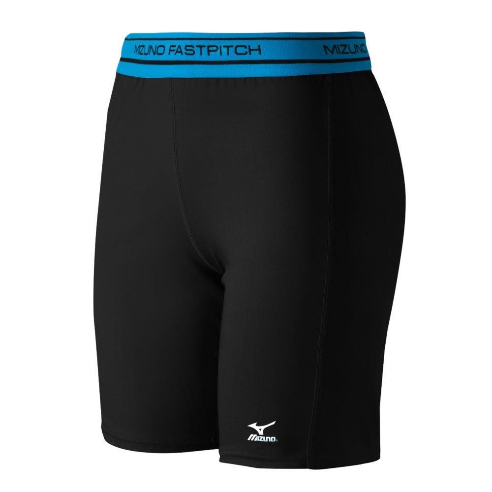Mizuno Low Rise圧縮Sliding Shorts B016WFU8TY XX-Large|ブラック ブラック XX-Large