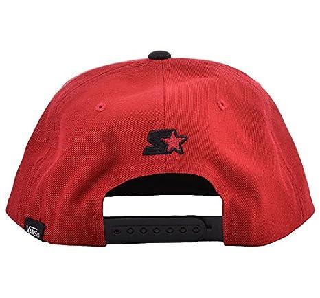 Vans logotipo Scrip Ted Starter Retro Hat - Gorra - Rojo ...