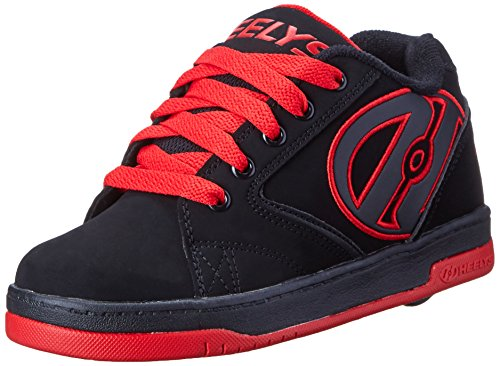 Shoe (Toddler/Little Kid/Big Kid), Black/Red, 8 M US Big Kid (Toddler Red Nubuck Kids Shoes)