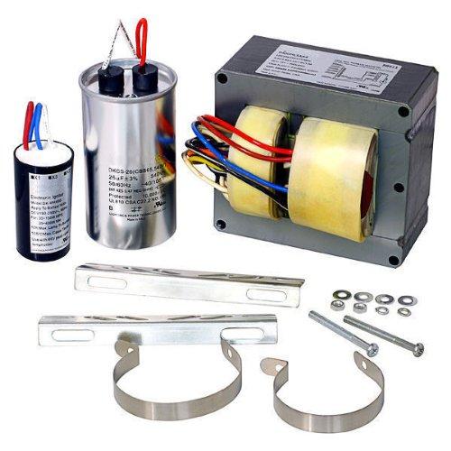 Deltek 88608 - 250 Watt - Pulse Start - Metal Halide Ballast - 5 Tap - ANSI M138/M153 - Power Factor 90 - Max. Temp. Rating 221 Deg. F - Includes Dry Capacitor Ignitor and Bracket Kit (250w Pulse Start Metal)