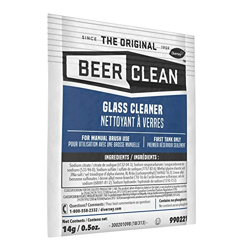 Diversey Beer Clean Glass Cleaner (0.5 Ounce, 100-Pack) by Diversey (Image #1)